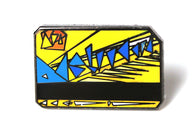 Naturel - Metrocard Pin