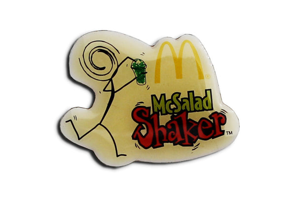 Vintage McDonald's Salad Shakers Pin