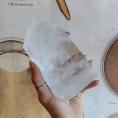 Large Quartz Obelisk