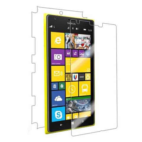 Nokia Lumia 1520 Screen Full Protector Front & Back Premium HD Clear Film - BoardwalkBuy