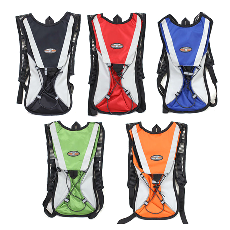Hiking/Bicycle Hydration Backpack - Assorted Colors - BoardwalkBuy - 1