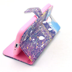 Enjoy Stand Leather Case For Samsung S4 - BoardwalkBuy - 2