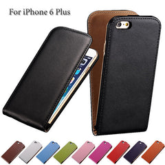 PU Leather Flip Case for iPhone 6 Plus - BoardwalkBuy - 1
