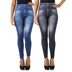 Slim & Lift Caresse Jeans - Single and 2 Pack - BoardwalkBuy - 3