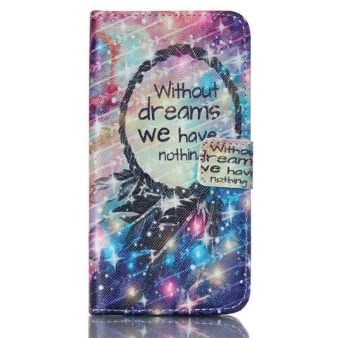 Dream Stand Leather Case For Samsung S5 - BoardwalkBuy - 1