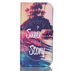 Story Stand Leather Case For Samsung S6 Edge - BoardwalkBuy - 1