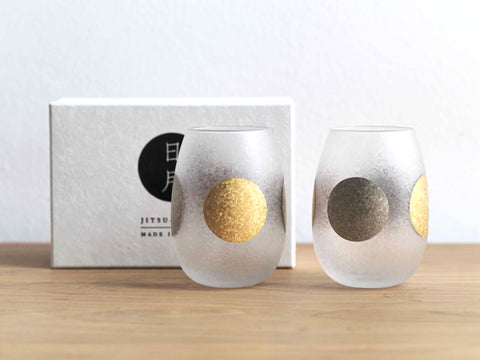 Glass Art- Japanese gold-silver film in fragmented glass