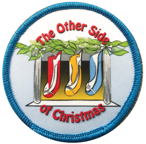 Ambigram Patch for 'The Other Side of Christmas'