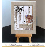 Wood Grain Frame Die by Kat Scrappiness