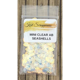 Mini Clear AB Seashell Sequins by Kat Scrappiness