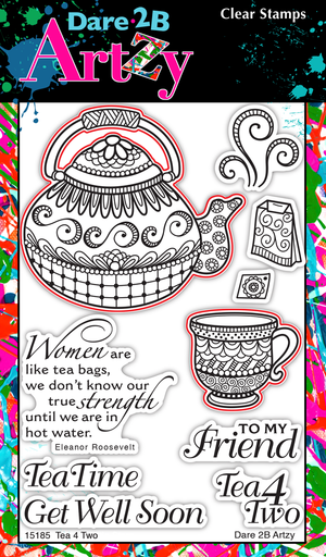 Tea 4 Two Stamp Set