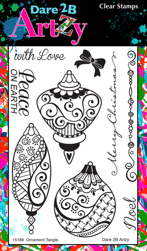 Ornament Tangles Stamp Set