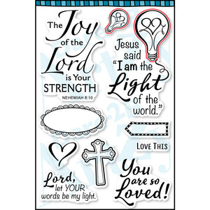 Lord is My Light Stamp Set