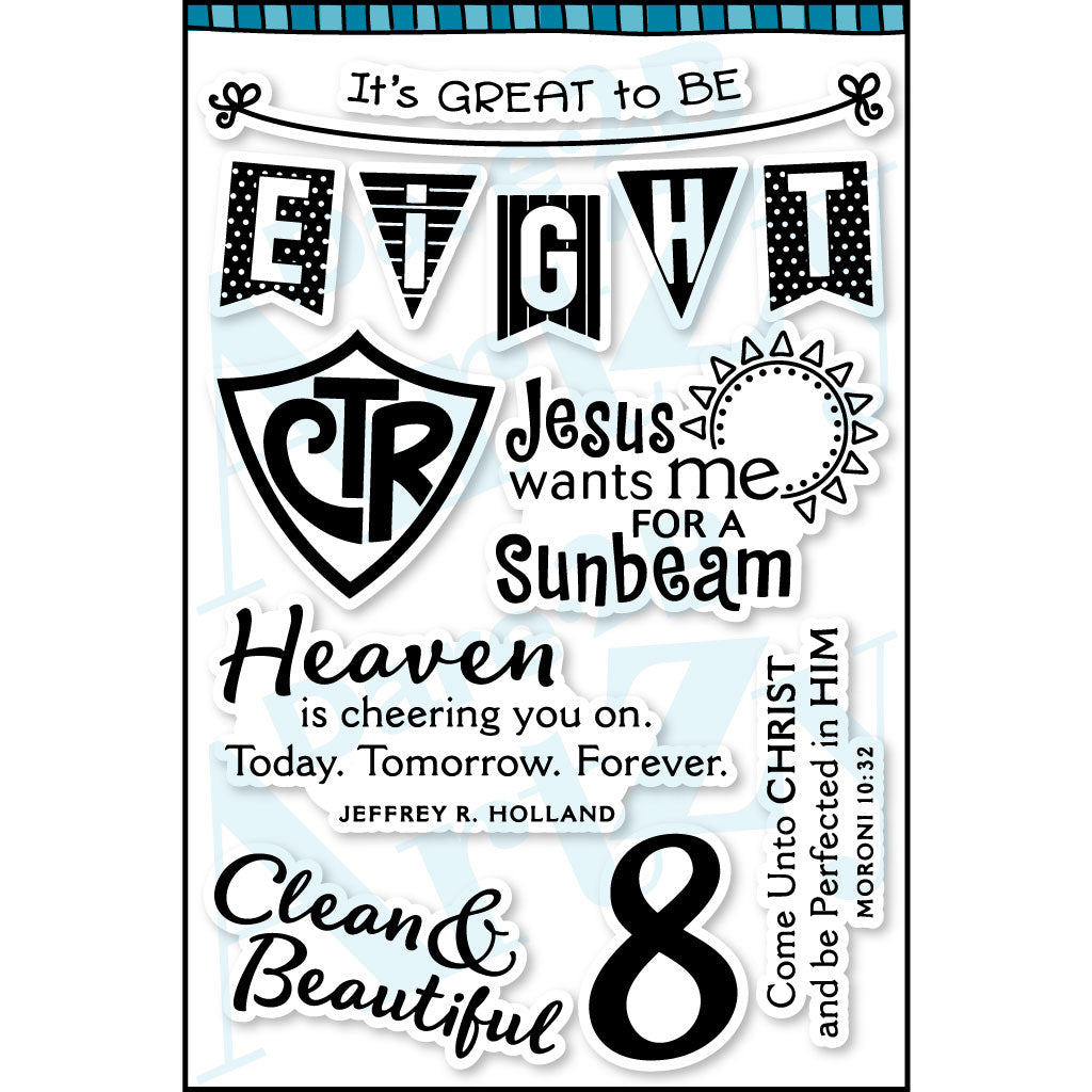 CTR Baptism Stamp Set