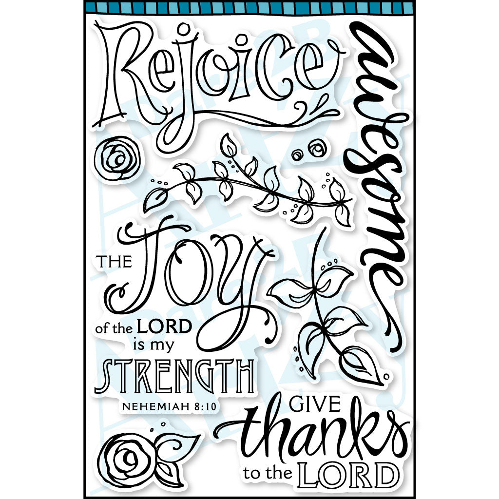 Words of Praise Stamp Set