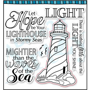Hope Lighthouse Stamp Set