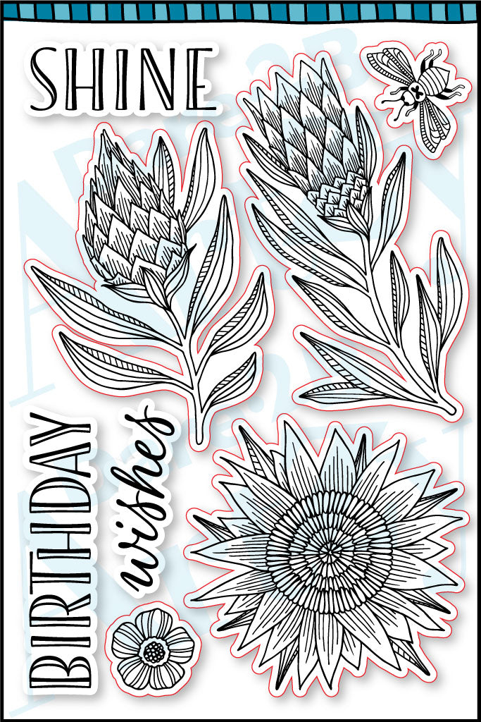Shine Stamp Set