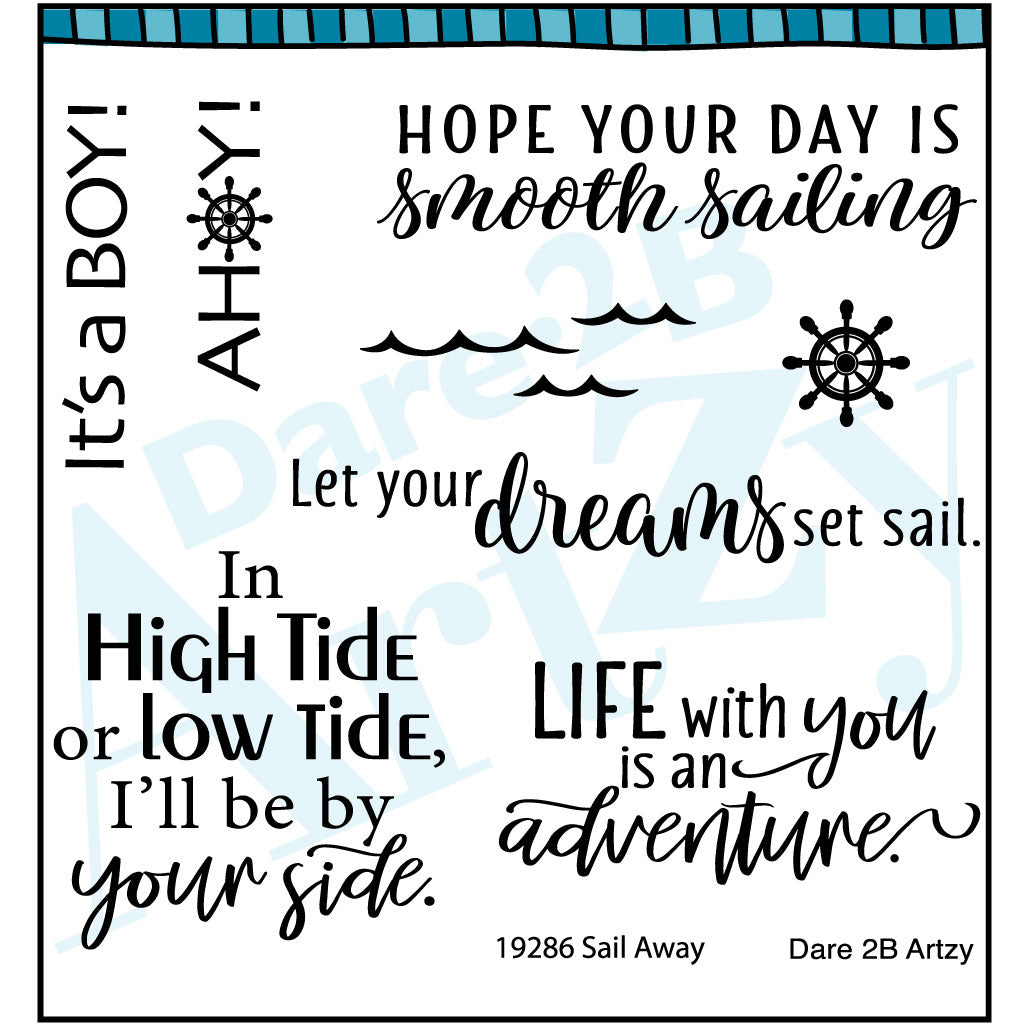 Sail Away Stamp Set