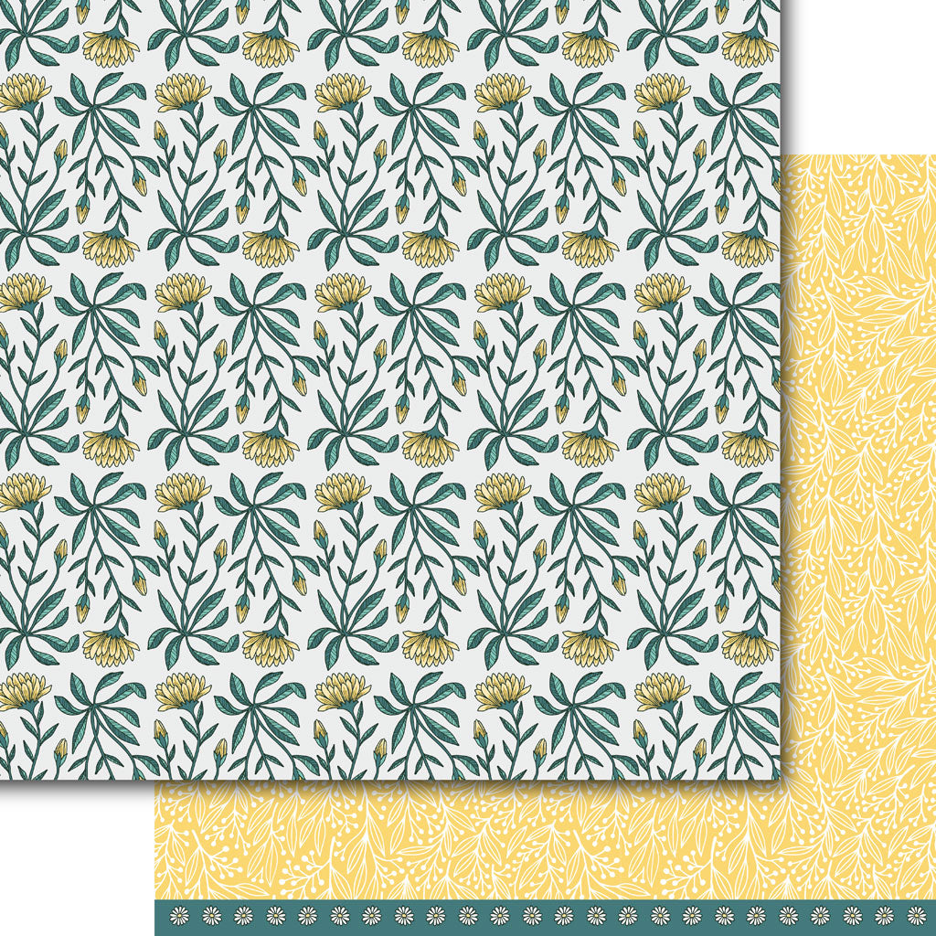 Buds n Bloomz Paper Pack (15 Sheets)