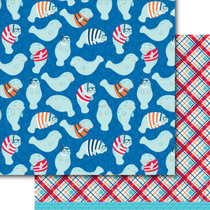 Manatees Paper Pack (15 Sheets)