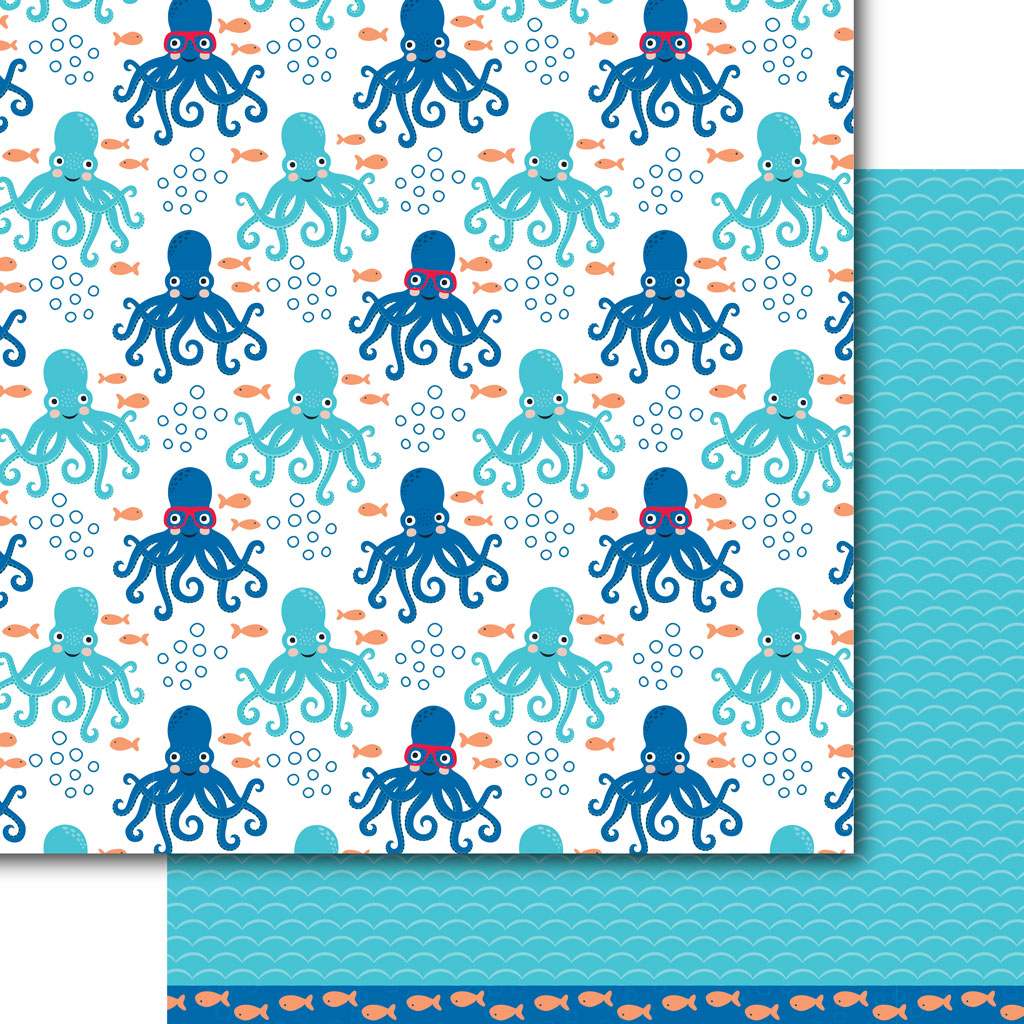 Under the Sea Paper Pack (15 Sheets)