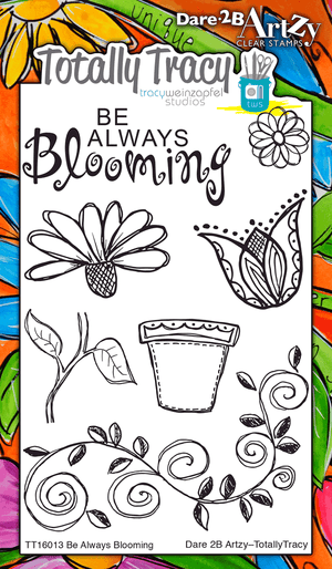 Be Always Blooming (Totally Tracy) Stamp Set