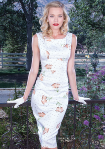Stop Staring, GRACIE Dress, Floral Print Dress, GRACIE-03 TLPWD, SPRING SUMMER 2019