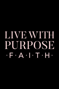 Live With Purpose Christian Athletic Wear