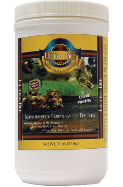 Ultra Bee Pollen Substitute 1 lb. Canister