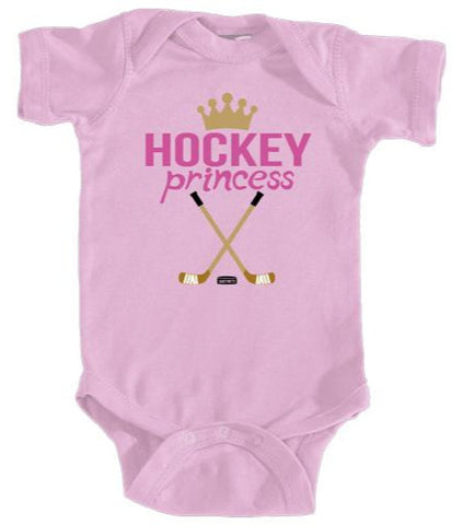 Baby Hockey Princess Infant Bodysuit