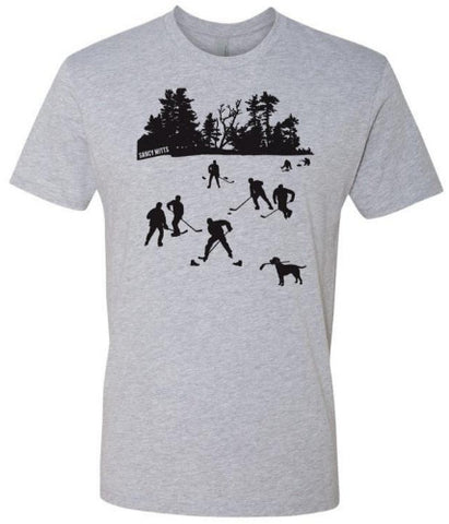 Day On the Lake Hockey Shirt