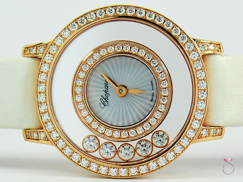 Chopard Happy Diamonds Icons Watch, 18K Rose Gold