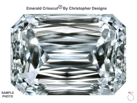 2.73ct H-I1 Emerald Crisscut Loose Diamond GIA Certified