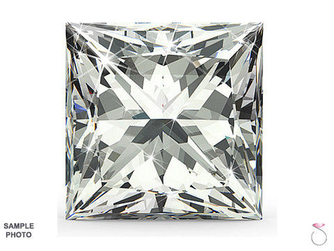 0.71ct I VS2 Princess cut Diamond GIA Certified