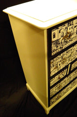 FABULOUS FORNASETTI VINTAGE STAG TALLBOY CHEST OF DRAWERS
