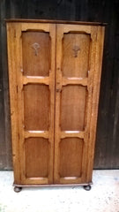 Superb Quality Arts And Crafts Hall Robe / Gentlemans Wardrobe