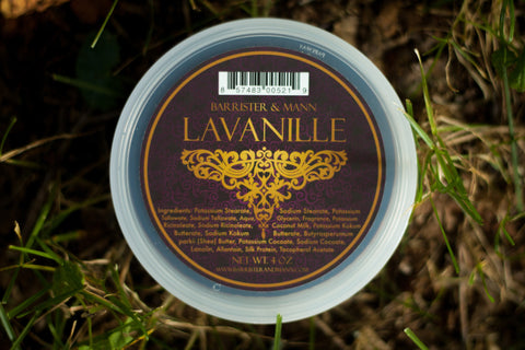 Barrister & Mann Tallow Shaving Soap, Lavanille