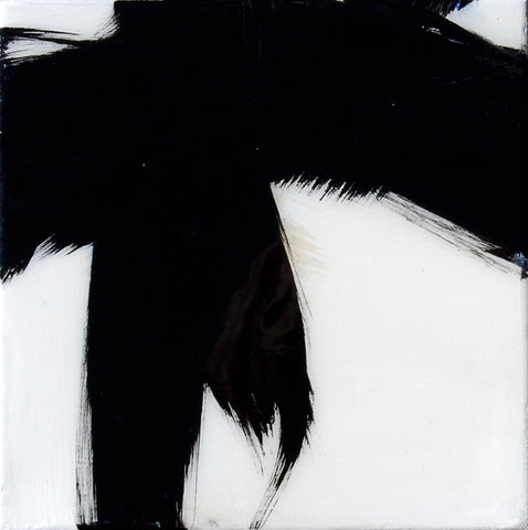 Black and White Resin 1- Carrie Penley