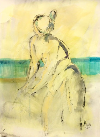 Figure By The Water I