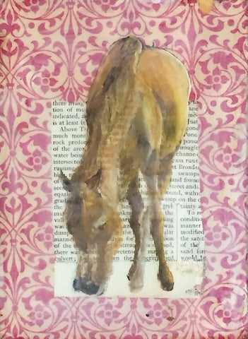 Horse At Home (Red Horse)