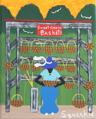 Basket Lady I