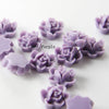 Acrylic Cabochons - Flower 12mm (52F)
