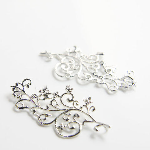 Base Metal Link-Butterfly 46x20mm (7663Z)