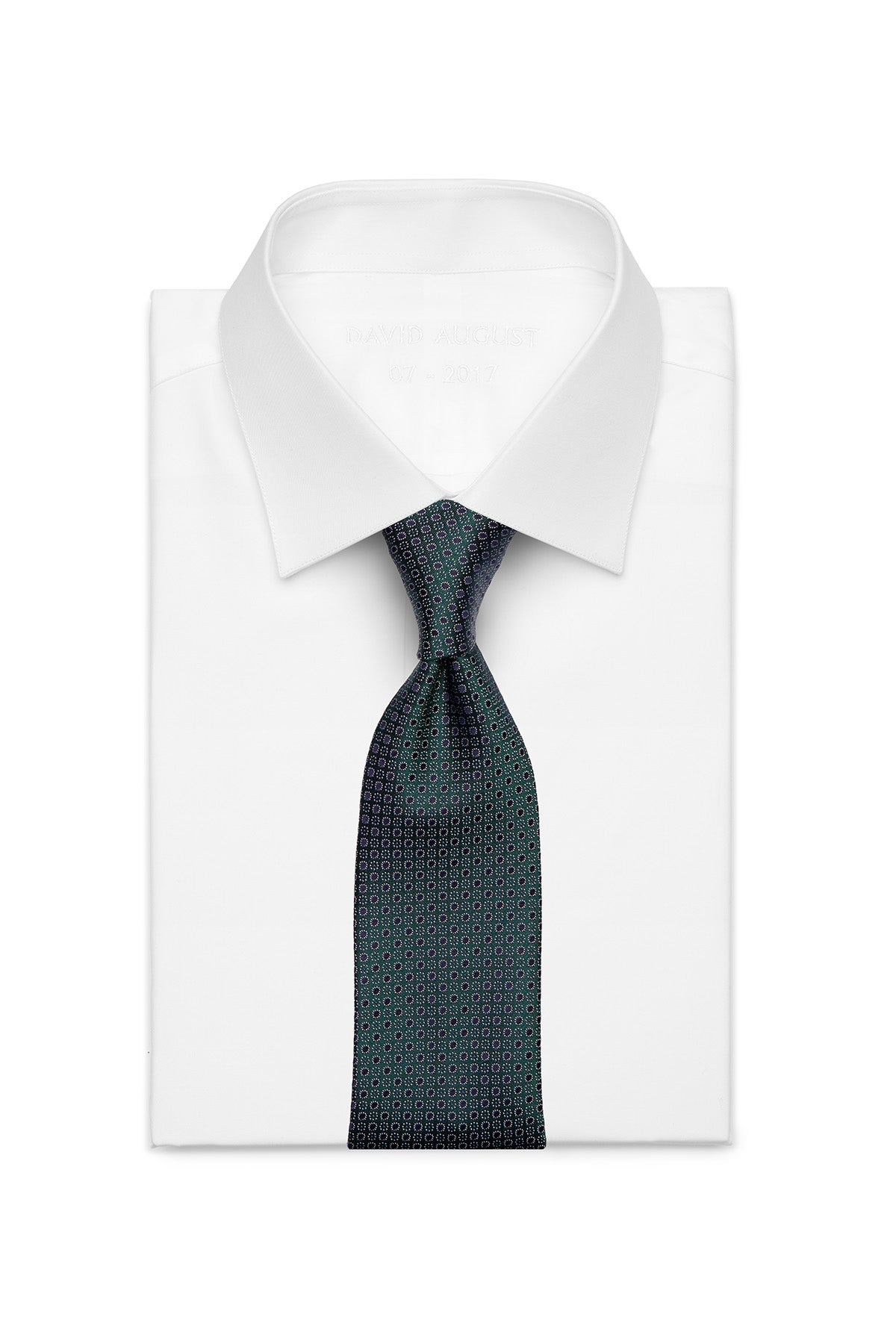 Miracles For Kids Exclusive Silk Jacquard Tie - Green