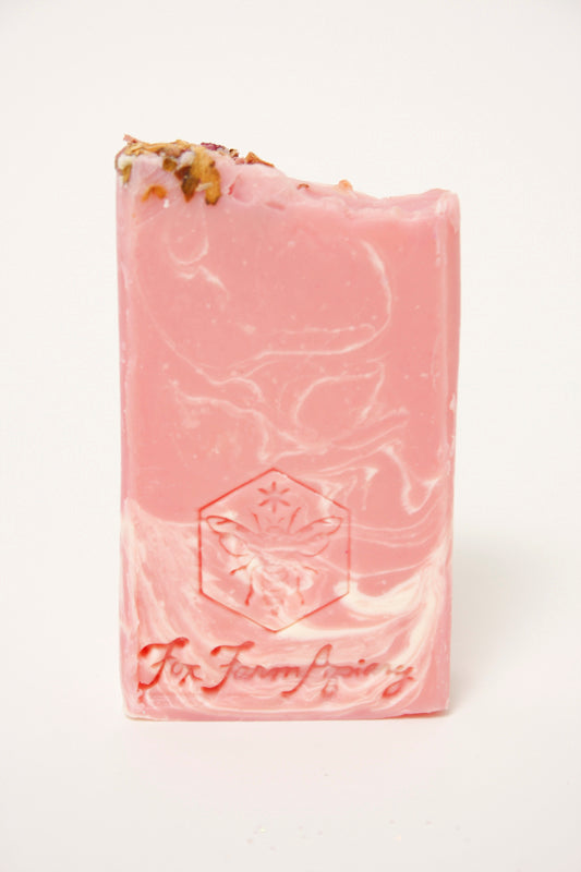 FOX FARM APIARY WILD SUMMER ROSE SOAP - Cloak and Dagger NYC