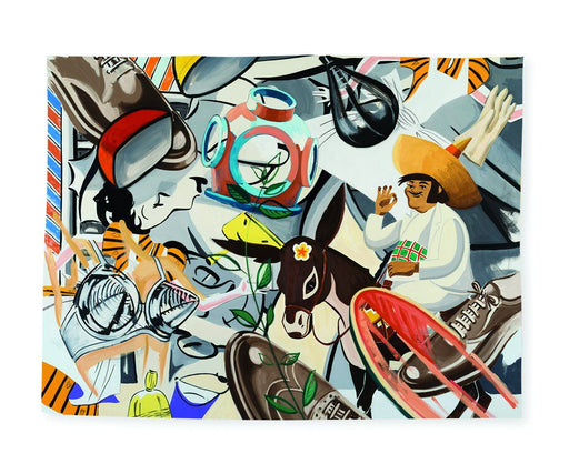 Latin Rhythms Tea Towel x David Salle Textiles Third Drawer Down Studio Default Title