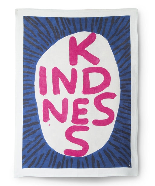 Kindness Tea Towel x David Shrigley Textiles Third Drawer Down Studio Default Title