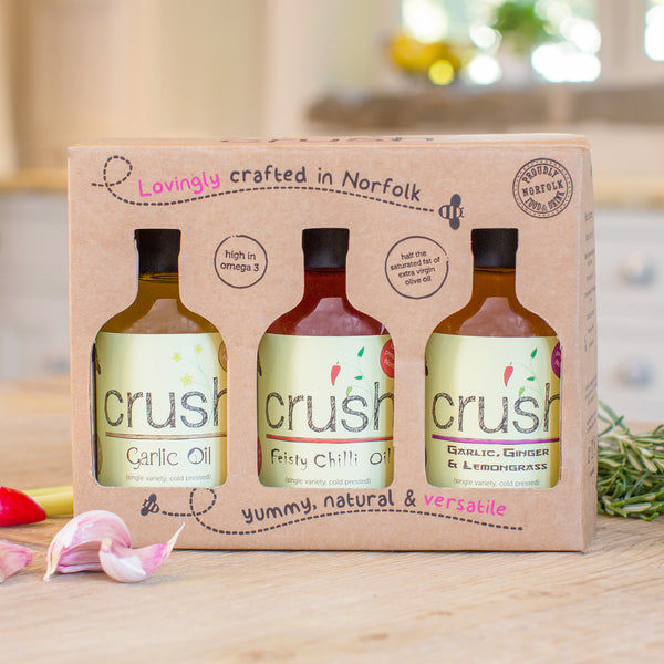 Crush Gift Box [3 x 200 ml OILS] - Crush Foods