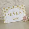 'Art Deco' Wedding Table Name Cards