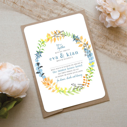 Forever and a Day Wedding Invitation